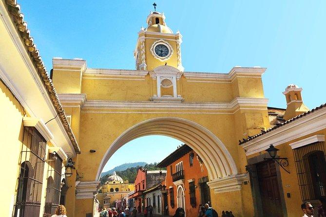 Round-Trip Transportation to Antigua Guatemala