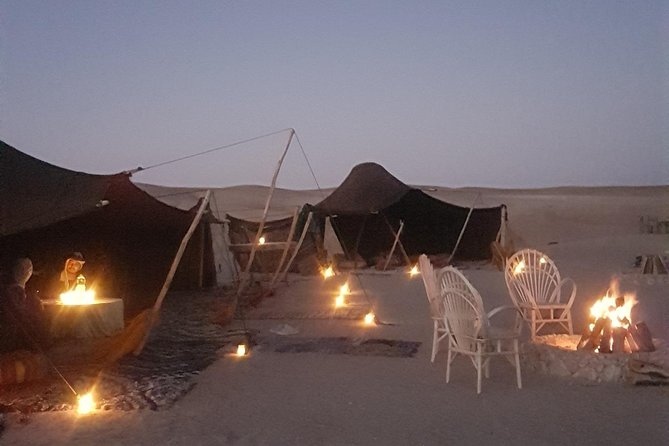 Agafay Desert Camel Ride with Dinner at Sunset from Marrakech