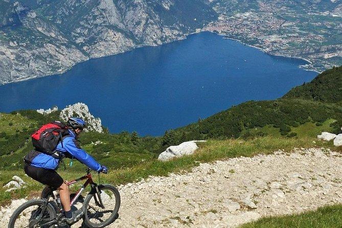 Full-Day E-Bike Rental Riding cross Monte Baldo