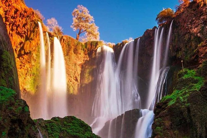 Guided Tour to Ouzoud Falls from Marrakech with Hotel Pick Up