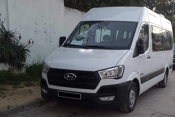 Monastir private minibus arrival & departure airport transfer to Hammamet