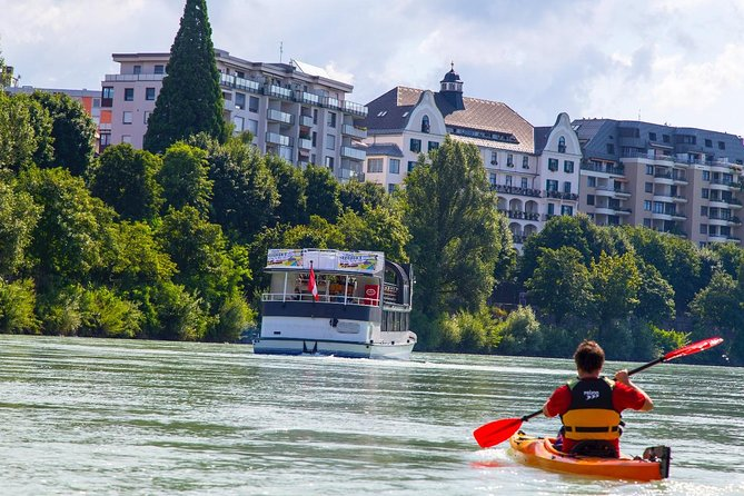 Paddle tour with a swim stop from Villach