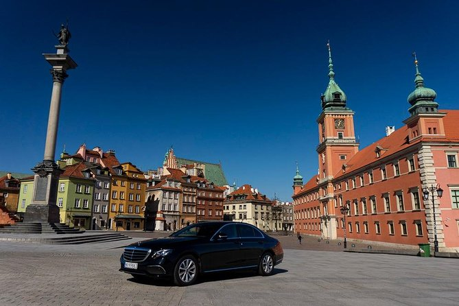 The Best Private All Day Warsaw City Tour by luxury car