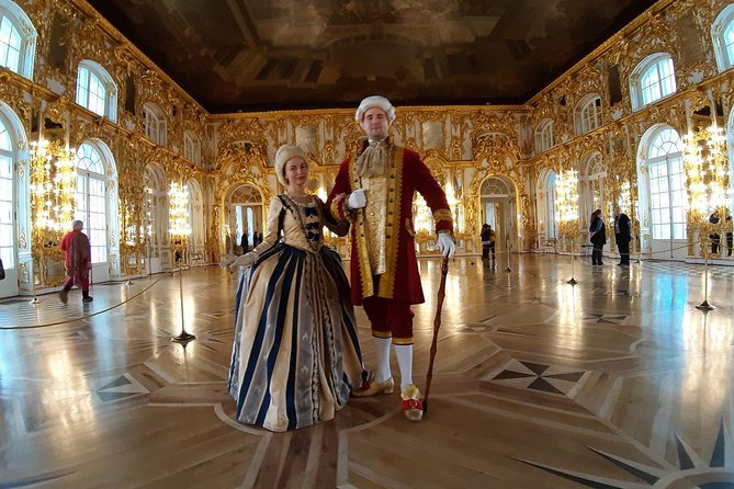 Catherine Palace Tour Including Amber Room and Charles Cameron's Rooms
