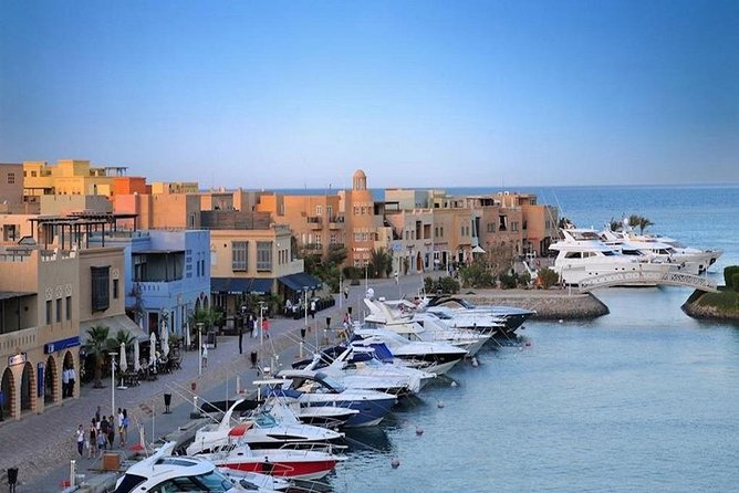 Two days from Cairo to Hurghada by flight