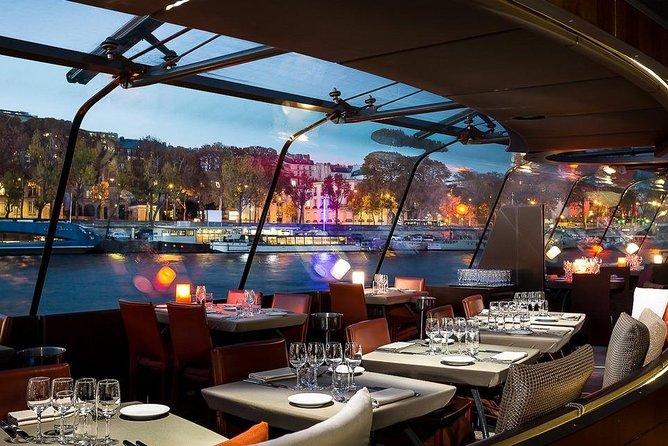 Eiffel Tower Summit Access & Dinner Cruise