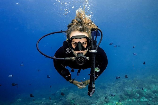 Advanced Open Water Course - Advanced Certification in Lembongan (next to Bali)