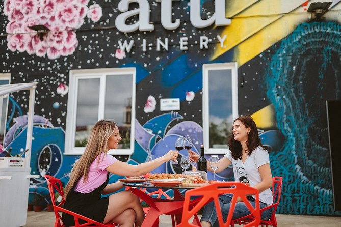 2.5-Hour Chisinau ATU Winery Tour with Tasting and Grafitti