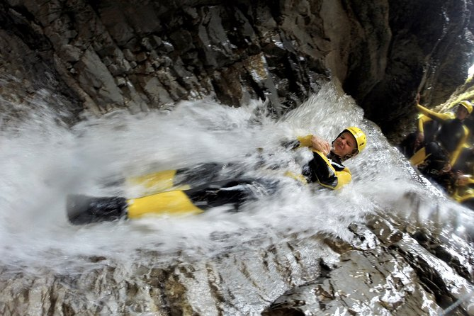Beginners canyoning tour