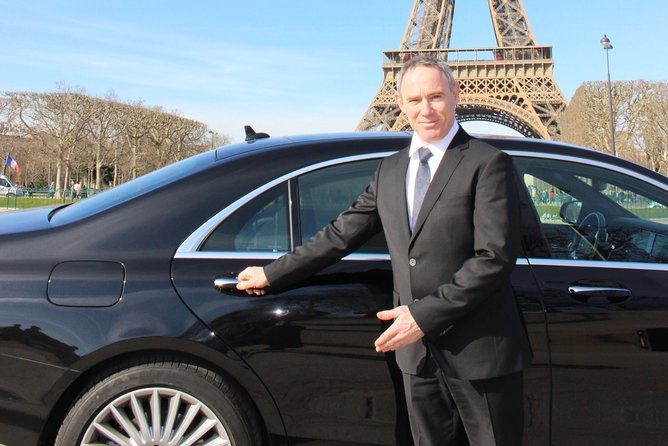 Transfer by luxury Mercedes from PARIS to => AEROPORTS de PARIS with Cab-Bel-Air