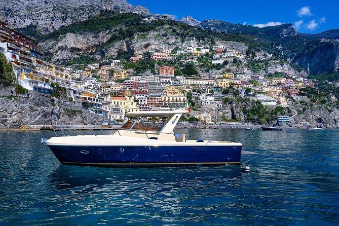 Capri Island and Positano Private Boat Tour