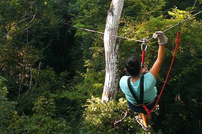 Private Cave Tubing & Zipline Tour from Belize City