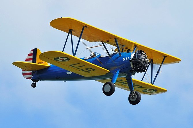 Biplane - 30 Minute Tactical Mission with Aerobatics