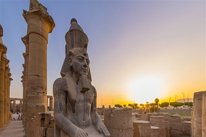 Half-Day East Bank Private Tour from Luxor with Pick Up