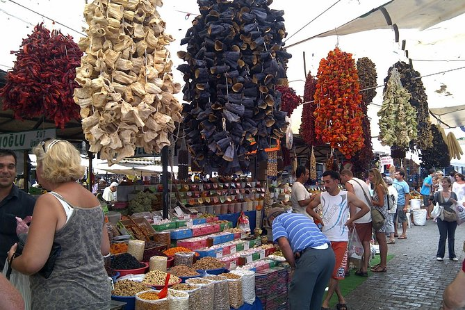 Half-Day Tour to Turgutreis Bazaar from Bodrum with Pickup