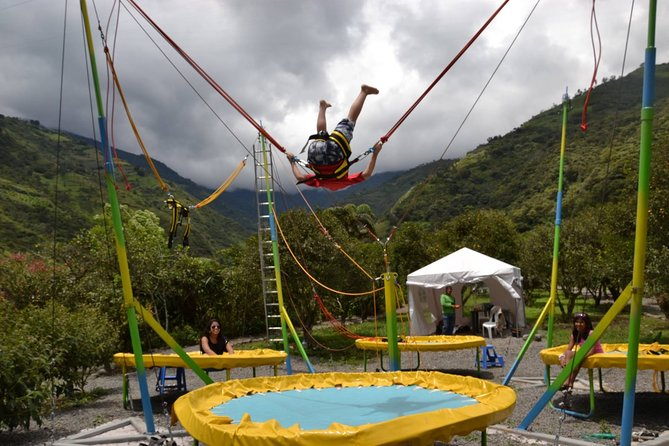Bungee Trampoline up to 200 kg