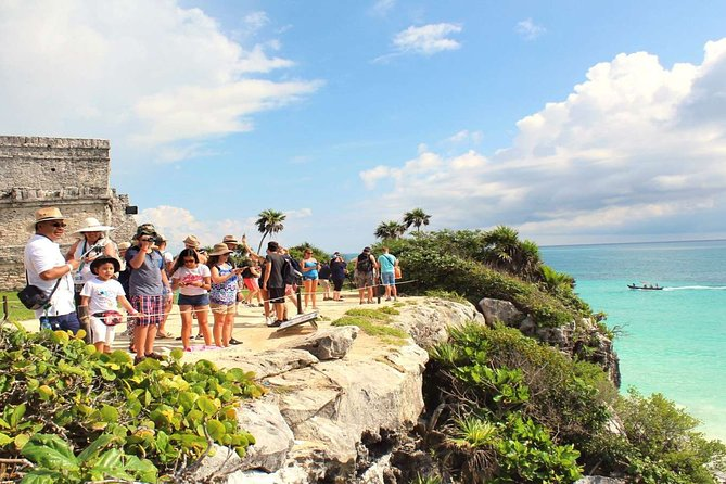 Tour to visit the archeological site of Tulum, Coba and a Cenote in one day