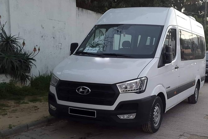 Enfidha private minibus arrival & departure airport transfer to Hammamet
