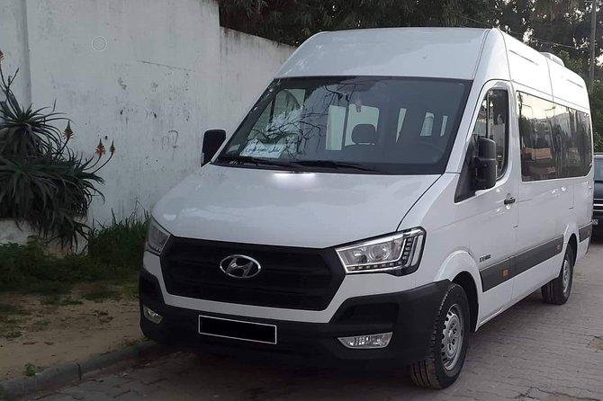 Monastir private minibus arrival & departure airport transfer Yasmine Hammamet