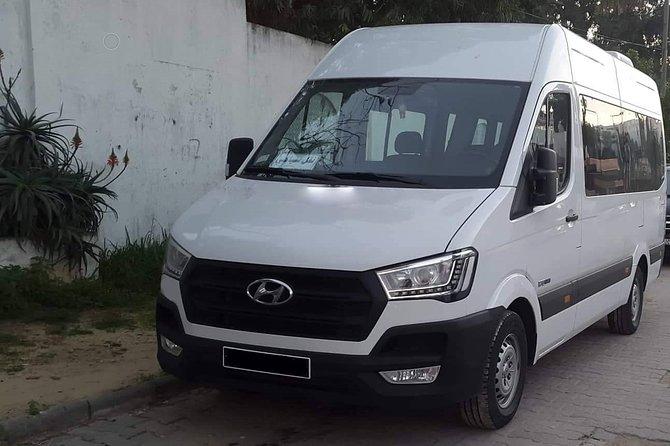 Monastir private minibus arrival & departure airport transfer to Sousse