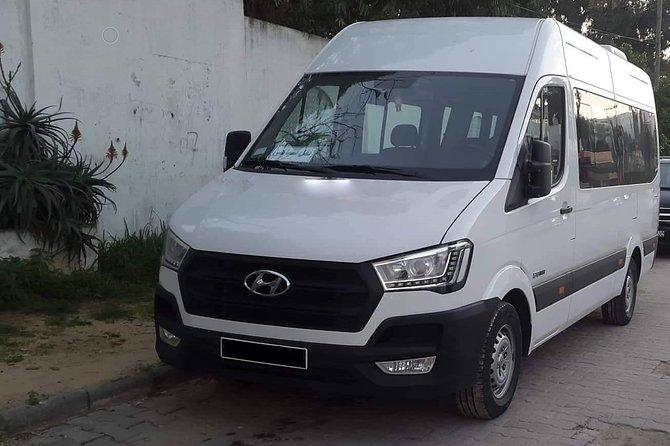 Monastir private minibus arrival & departure airport transfer to Nabeul
