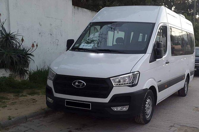 Monastir private minibus arrival & departure airport transfer to Tunis Centre