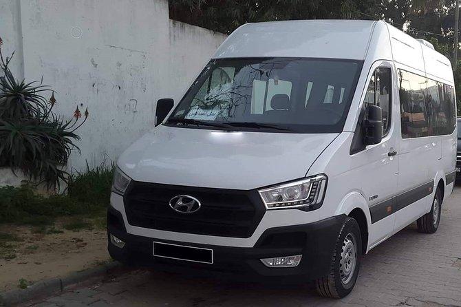 Monastir private minibus arrival & departure airport transfer to Carthage