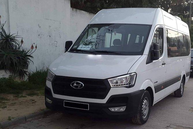 Monastir private minibus arrival & departure airport transfer to Gammarth
