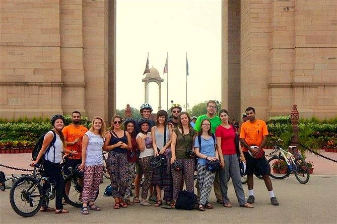 Explore Imperial Delhi on Bicycle (New Delhi Cycling Tour)