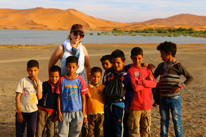 Private 3-Days tour from Fes to Merzouga Desert with Luxury Camp and Camel Ride