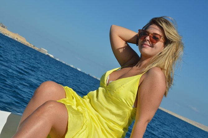 4 hours Private Speed Boat to Paradise Island trip & Water Sport - Hurghada