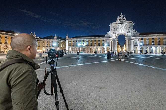 Private Tour - Night Photography Walk in Lisbon
