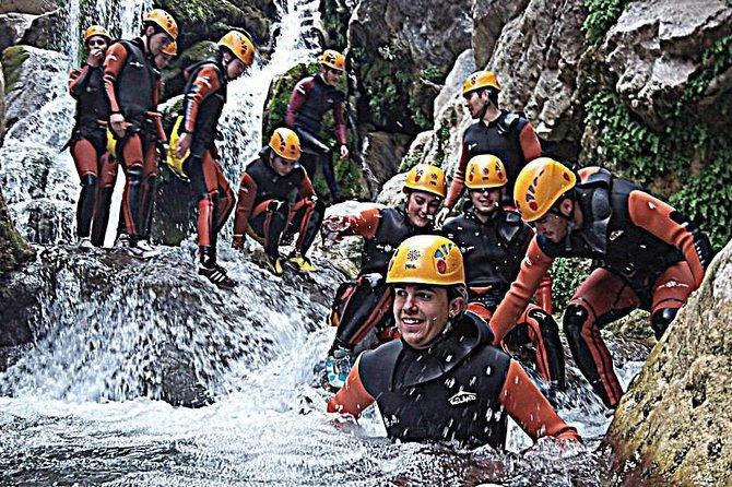 Canyoning: Canyon of the Cerrada del Utrero