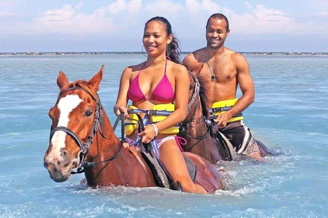 Horseback Ride N Swim & Blue Hole Experience From Ocho Rios