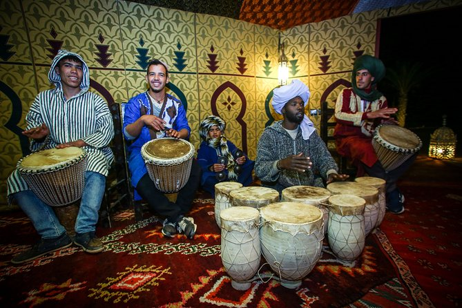 3-Days Private Tour from Marrakech to Merzouga Desert with Luxury Desert Camp
