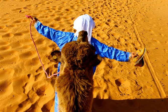 Private 2-Day Camel Trekking in Merzouga All Inclusive with night in Luxury camp