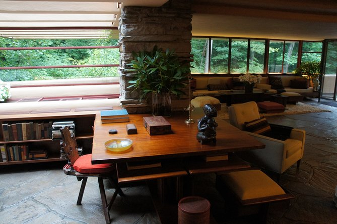 Frank Lloyd Wright designed every detail of the interior. See them where he installed them
