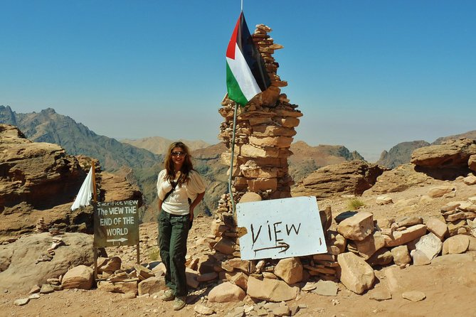 Jordan Horizons Tours : Petra Guided Trails ( Back Road to Monastery )