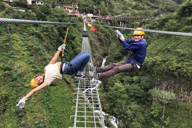 Canopy Circuit 500 m + Tibetan Bridge