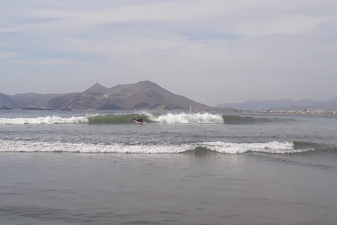 private surf trip around lima