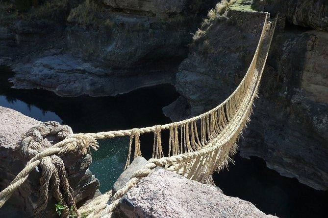 Q'Eswachaca Bridge tour