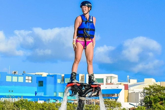 The Best FLYBOARD Activity in CANCUN. Includes training, equipment, instructor.