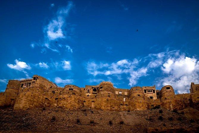 Jaisalmer City Tour with Kuldhara Village, Sunset at Sand dunes & Jeep Safari