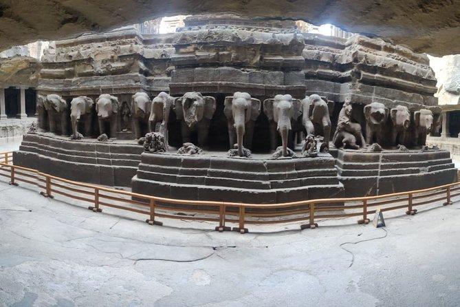 Ajanta and Ellora Caves Guided Tour from Mumbai