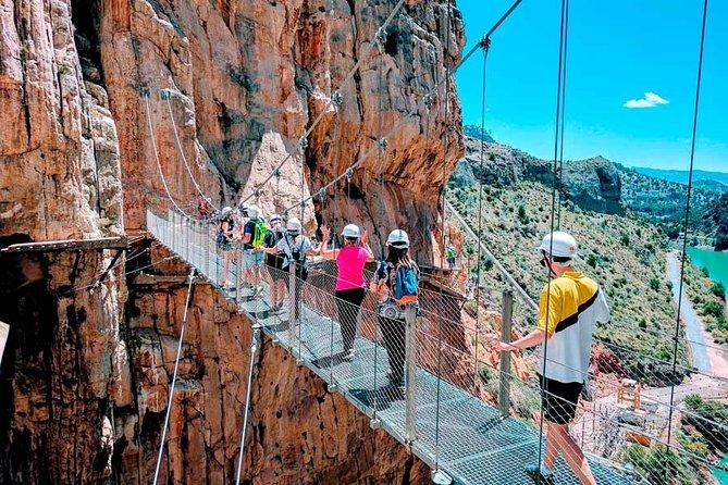 Private Granada excursions to Caminito Del Rey for up to 8 persons