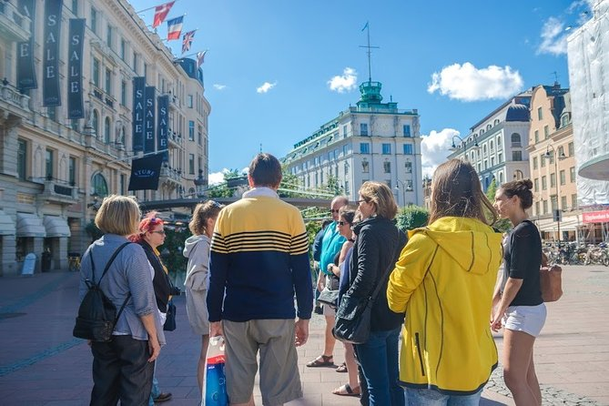 Stockholm City Center Walking Tour
