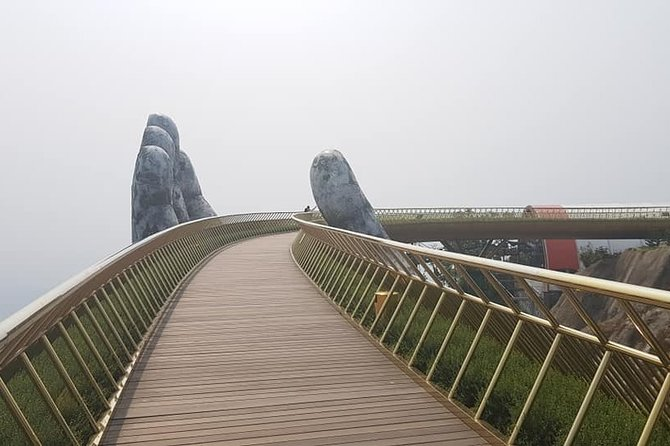 Private Car to Ba Na Hills - Golden Bridge from Hue City & Drop off Back