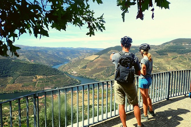 Bike Tour at Douro Valley, Full-day Private Tour with Lunch and Wine Tasting