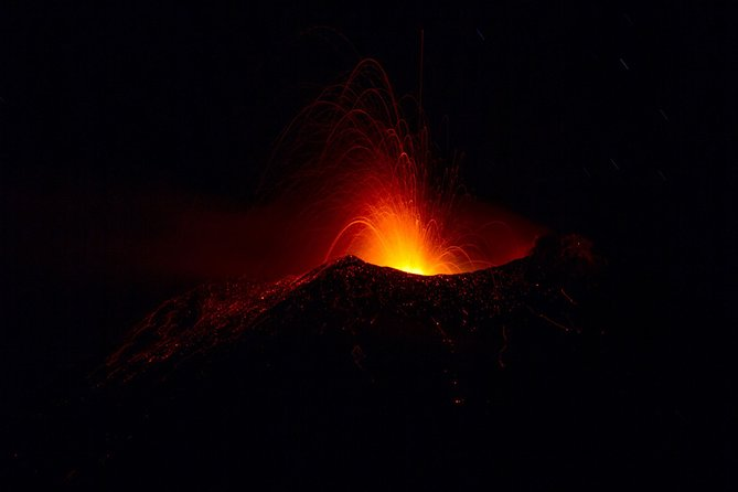 Lava Flows by night