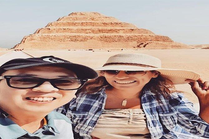 Private Tour Full-Day Giza Pyramid, Sakkara, Dahshur & Memphis